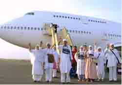 Haj flights