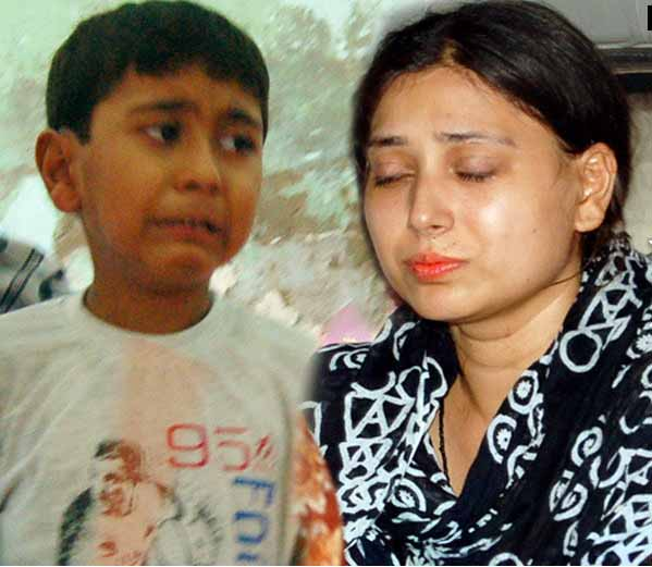 Wife sent to jail for abetting husband's suicide, 5 year old boy gives Mukhagni