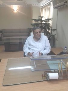 Advisor Tourism and ex Industries Minister of UP Mr. Khawaja Haleem at his office in Lucknow on October 24, 2016.