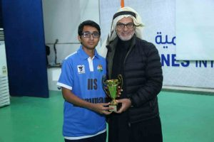 syed Hadi Best supportive player of tournament